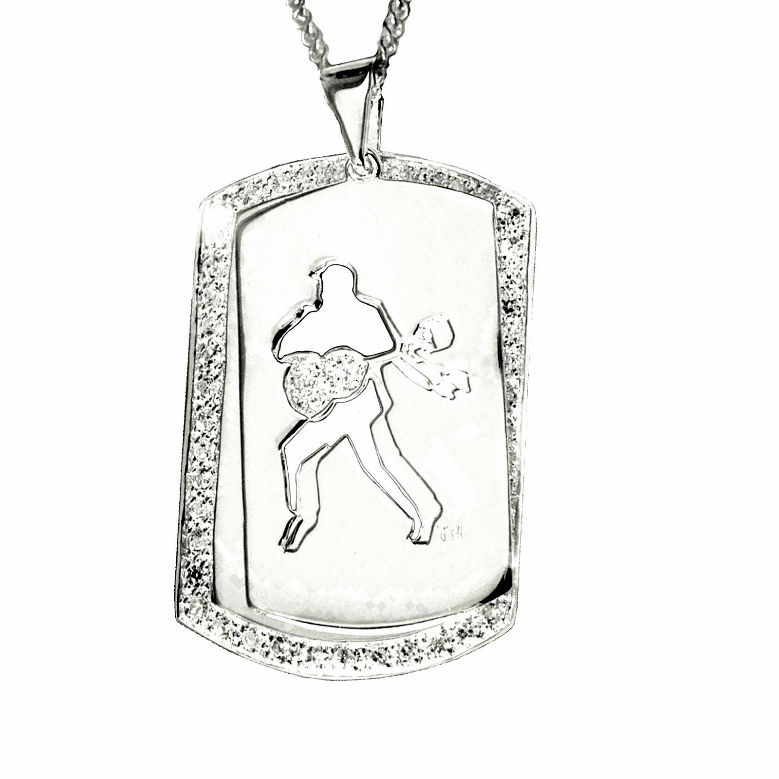 jewlery of dog mississippi miss necklace rebels women silver tag large ole products university gold pendant zokee accessories men