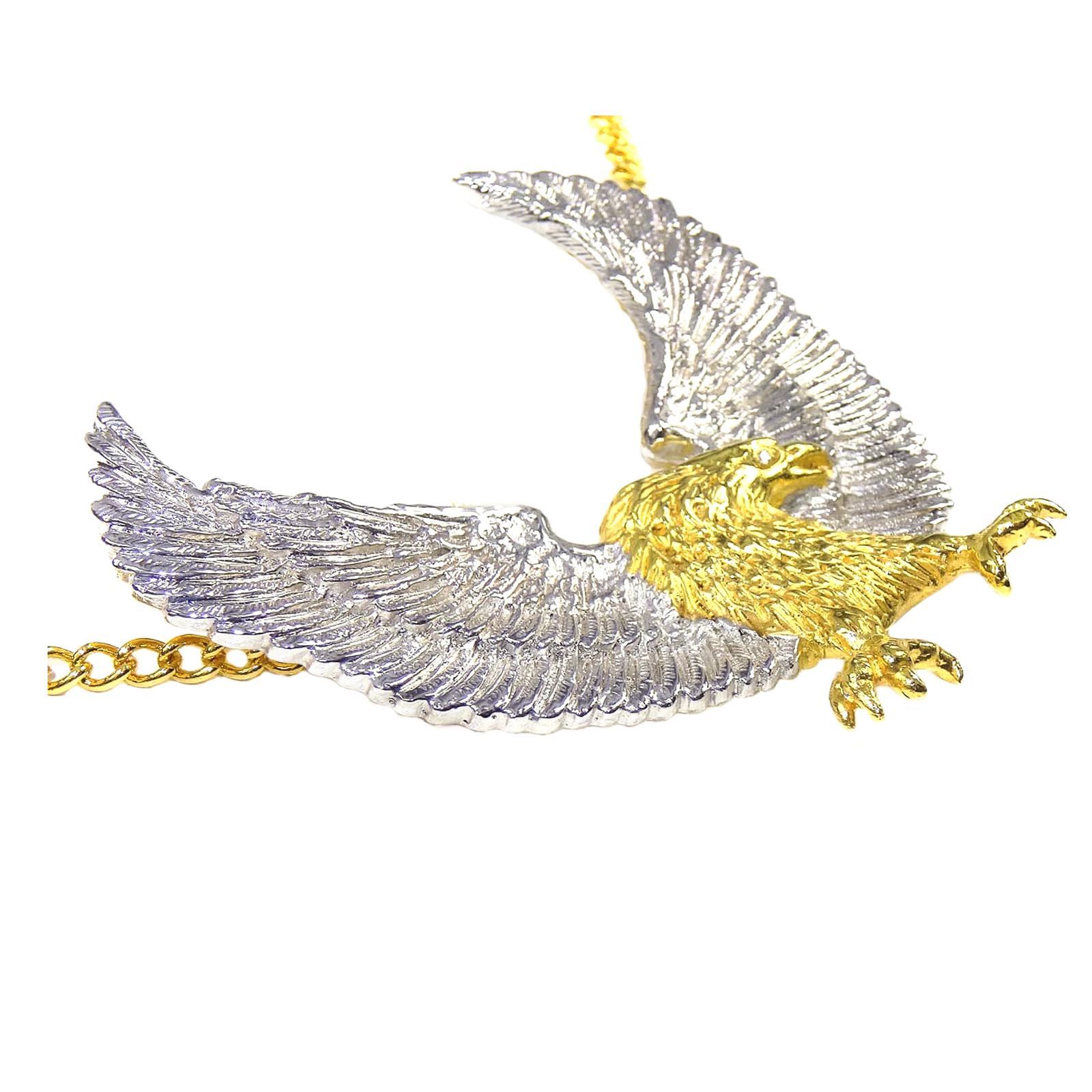 pin gold pendant eagle solid american on sold yellow amazon