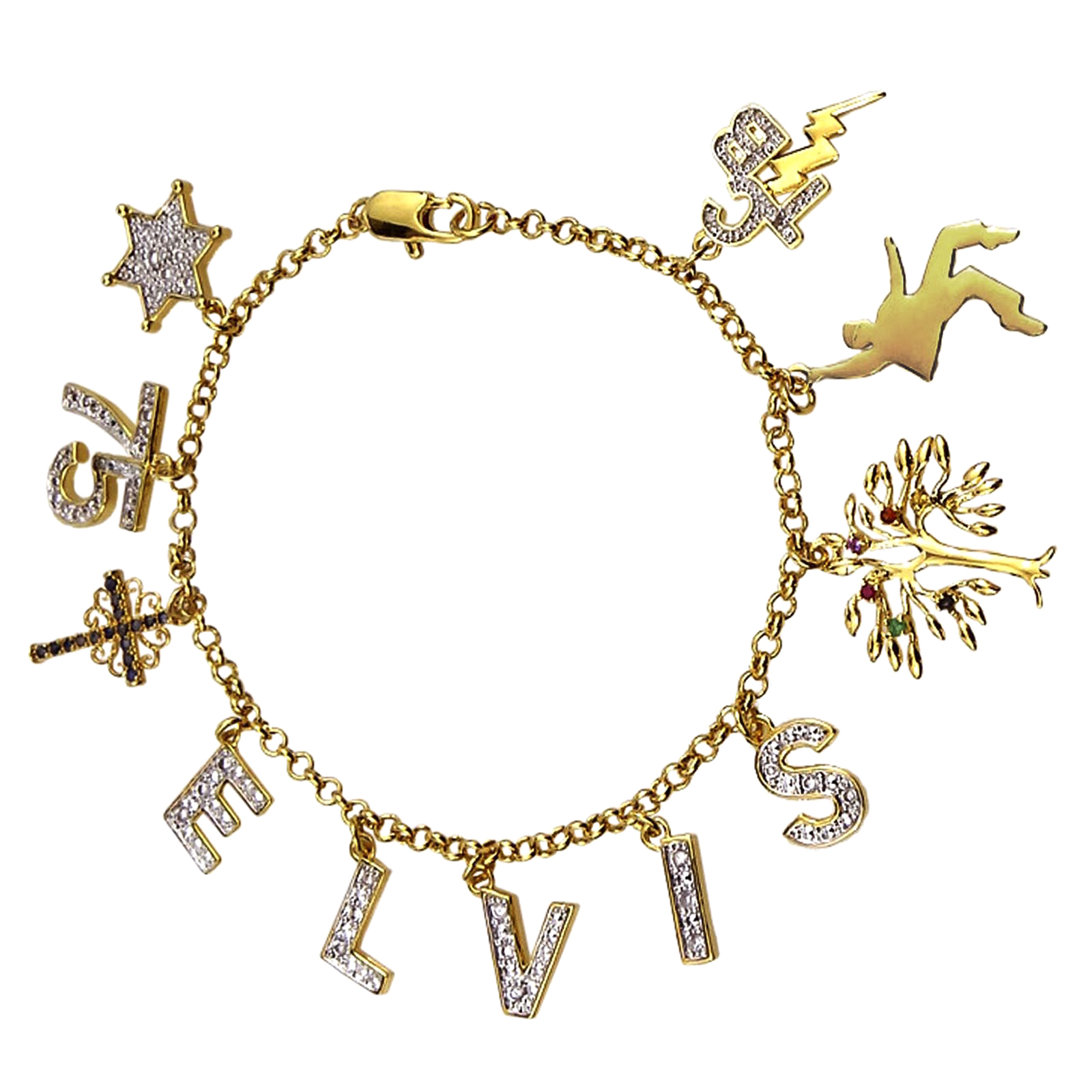 loves swarovski birthday feb ll bracelet adult shop