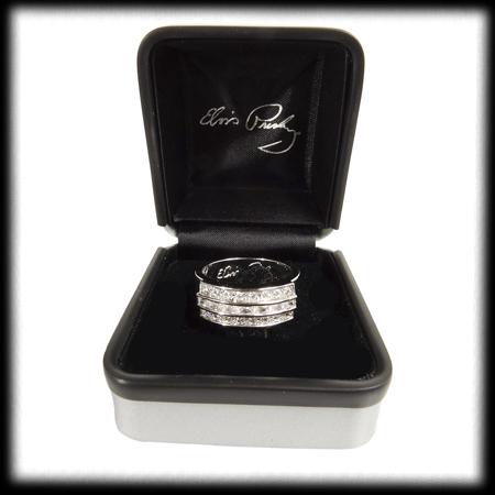 ... Wedding Ring Solid Silver With Swarovski Crystals. ; 