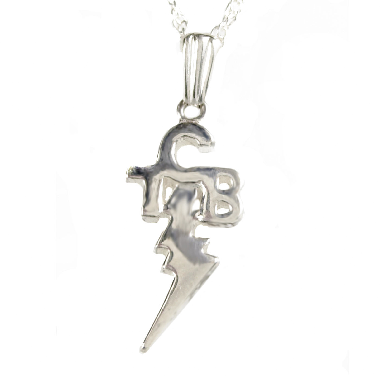 Elvis jewellery tcb pendant silver hometcb pendant silver mozeypictures Gallery