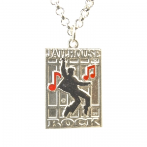 Jailhouse Rock Musical Note Enameled Pendant Silver (50) SKU50JRMNESP 1600x1600