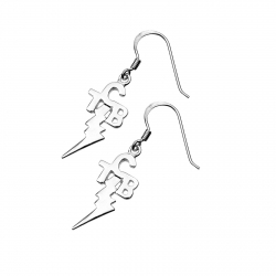 TCB Earring Small Silver (59) SKU59TCBSE