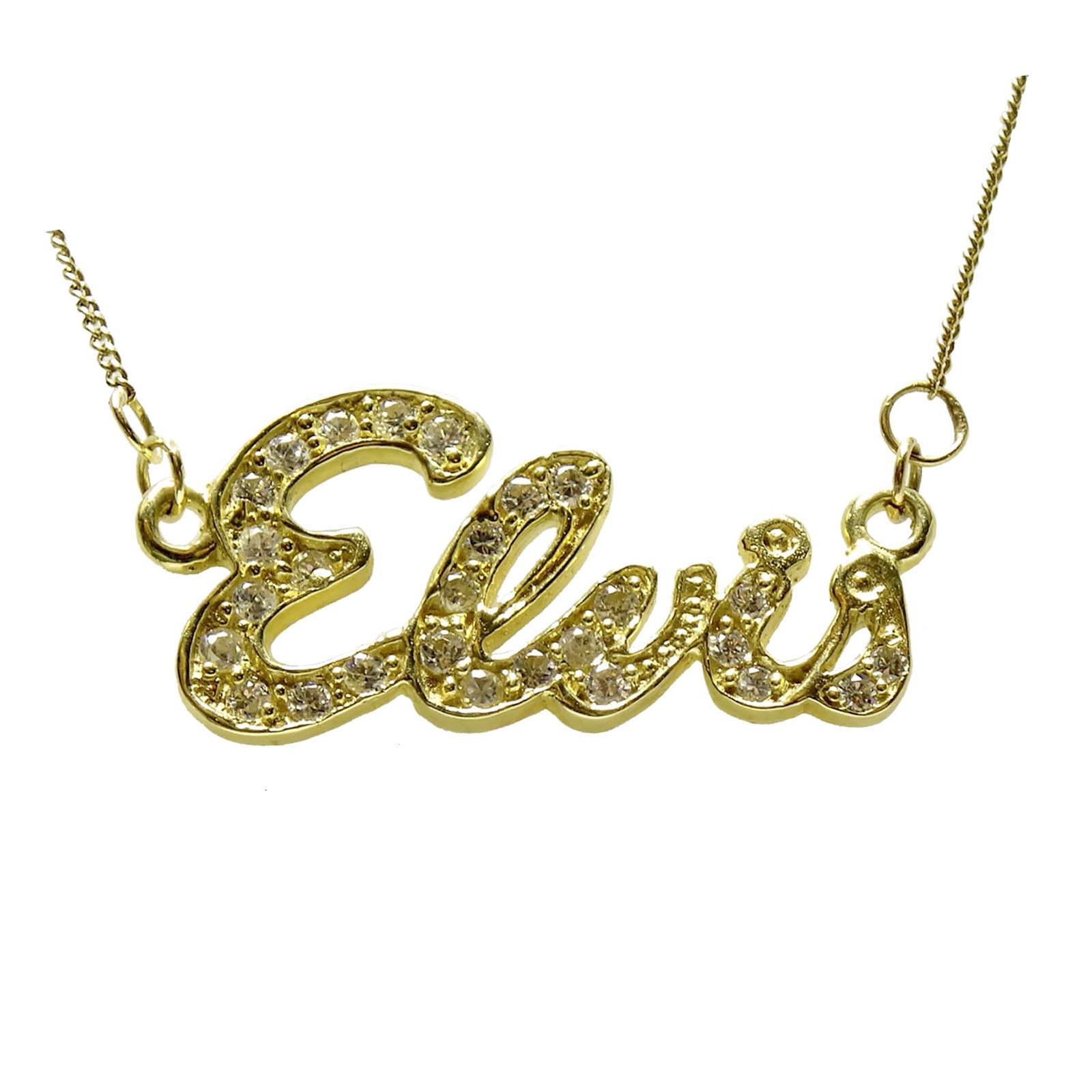 Elvis jewellery elvis signature pendant 9 karat gold signature pendant 9 karat gold aloadofball Choice Image