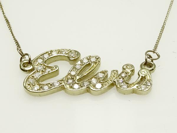Elvis jewellery elvis signature pendant 9 karat gold signature pendant 9 karat gold aloadofball Gallery