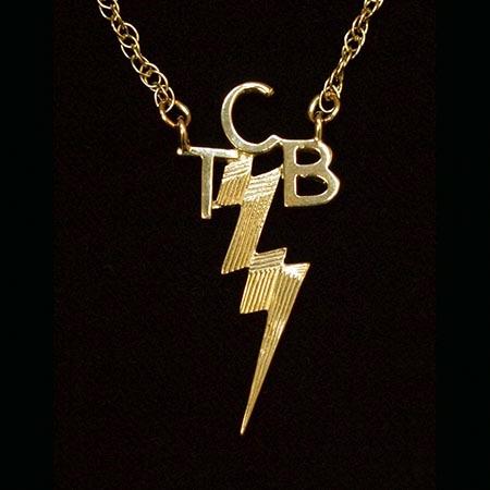 Elvis jewellery original gold tcb pendantsoriginal gold tcb mozeypictures Image collections